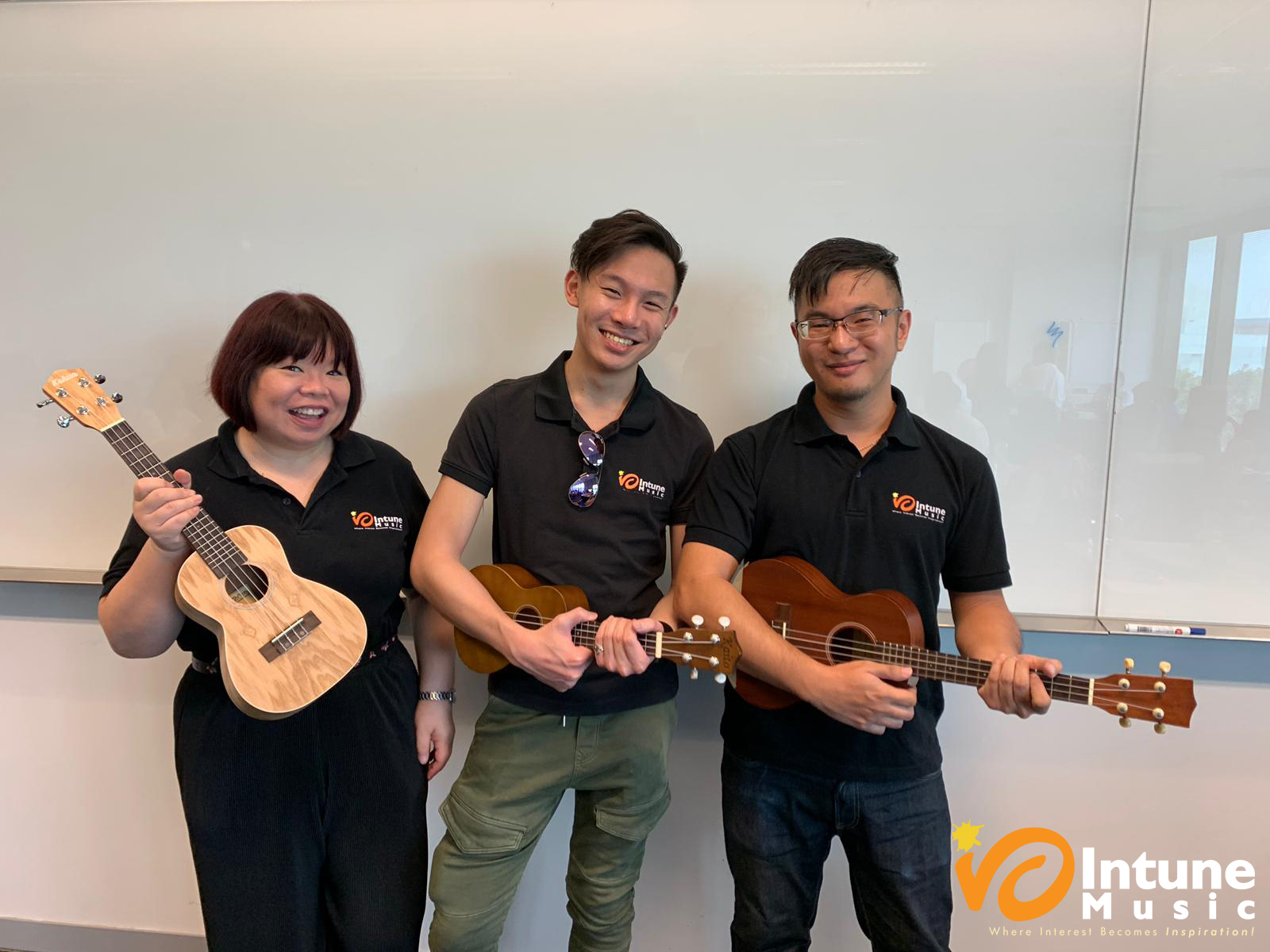 AWWA Ukulele Workshop at SUSS by instructors from Intune Music