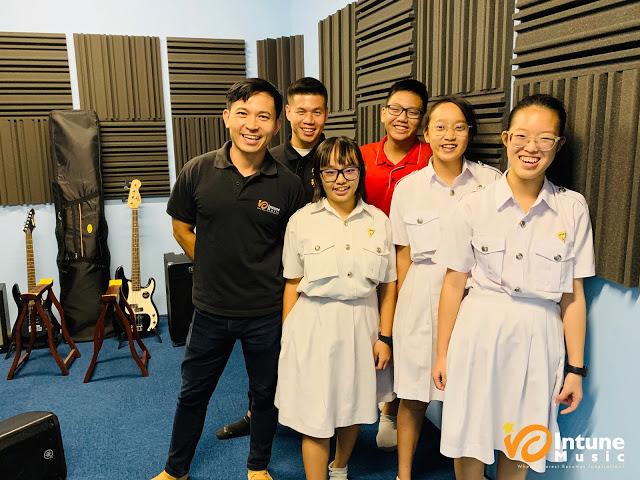 Chung Cheng High Yishun Music Workshops Intune Music